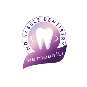no hassle dentistry logo