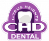 no hassle dentistry citrus heights dental logo